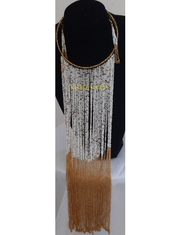 "Ensemble collier ""Djia "" 0015"